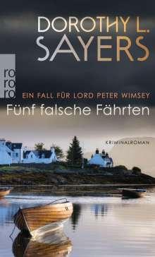 Dorothy L. Sayers: Fünf falsche Fährten, Buch