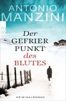 Antonio Manzini: Der Gefrierpunkt des Blutes, Buch