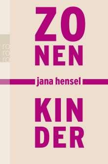 Jana Hensel: Zonenkinder, Buch