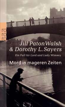 Dorothy L. Sayers: Mord in mageren Zeiten, Buch