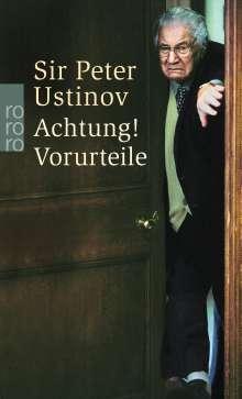 Peter Ustinov: Achtung! Vorurteile, Buch