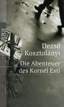 Dezsö Kosztolányi: Die Abenteuer des Kornél Esti, Buch