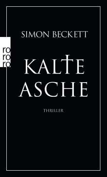 Simon Beckett: Kalte Asche, Buch