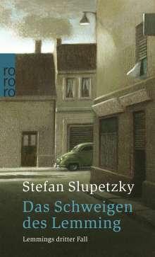 Stefan Slupetzky: Das Schweigen des Lemming, Buch