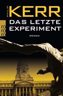 Philip Kerr: Das letzte Experiment, Buch