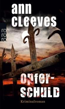 Ann Cleeves: Opferschuld, Buch