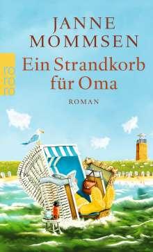 Janne Mommsen: Ein Strandkorb für Oma, Buch