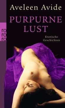 Aveleen Avide: Purpurne Lust, Buch