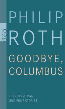 Philip Roth: Goodbye, Columbus, Buch