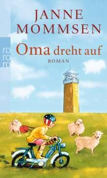 Janne Mommsen: Oma dreht auf, Buch