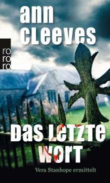 Ann Cleeves: Das letzte Wort, Buch