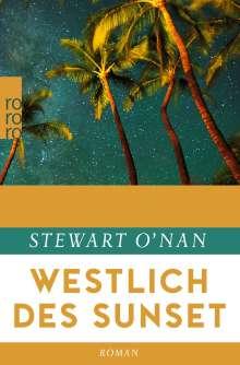 Stewart O'Nan: Westlich des Sunset, Buch