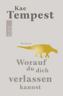 Kate Tempest: Worauf du dich verlassen kannst, Buch