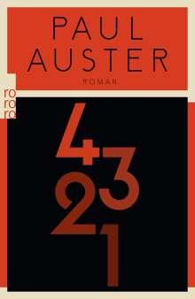 Paul Auster: 4 3 2 1, Buch