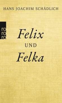 Hans Joachim Schädlich: Felix und Felka, Buch