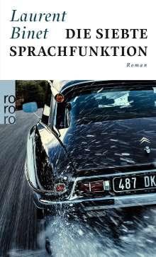 Laurent Binet: Die siebte Sprachfunktion, Buch