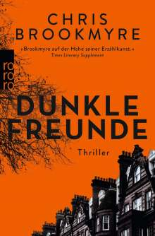 Chris Brookmyre: Dunkle Freunde, Buch