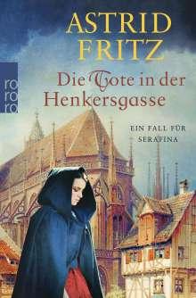 Astrid Fritz: Die Tote in der Henkersgasse, Buch
