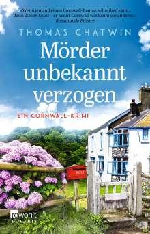 Thomas Chatwin: Mörder unbekannt verzogen, Buch