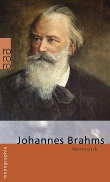Martin Geck: Johannes Brahms, Buch