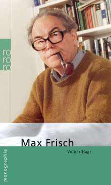 Volker Hage: Frisch, Max, Buch