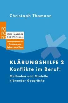 Christoph Thomann: Klärungshilfe 2, Buch