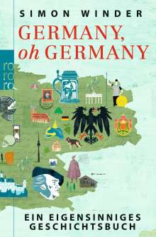 Simon Winder: Germany, oh Germany, Buch