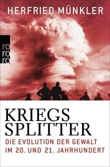 Herfried Münkler: Kriegssplitter, Buch