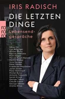 Iris Radisch: Die letzten Dinge, Buch