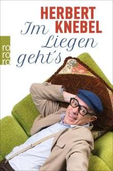 Herbert Knebel: Im Liegen geht's!, Buch