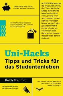 Keith Bradford: Uni-Hacks, Buch