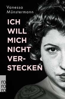Vanessa Münstermann: Ich will mich nicht verstecken, Buch