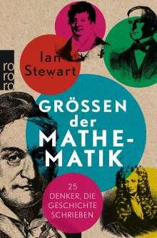 Ian Stewart: Größen der Mathematik, Buch