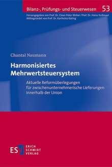 Chantal Naumann: Harmonisiertes Mehrwertsteuersystem, Buch