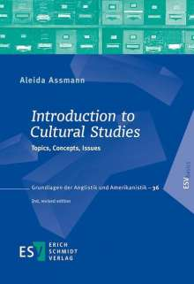 Aleida Assmann: Introduction to Cultural Studies, Buch
