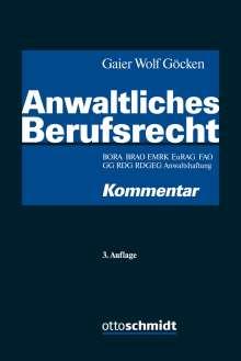 Anwaltliches Berufsrecht, Buch