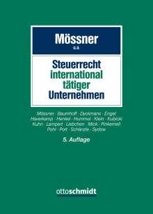 Jörg Manfred Mössner: Steuerrecht international tätiger Unternehmen, Buch