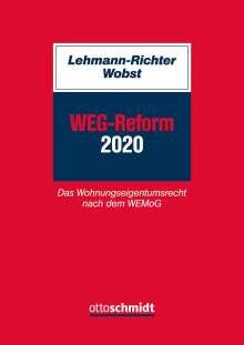 Arnold Lehmann-Richter: WEG-Reform 2020, Buch