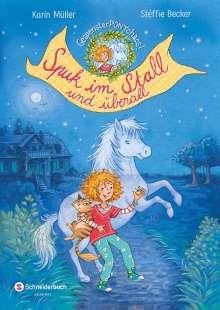 Karin Müller: Gespensterponychaos, Band 01, Buch