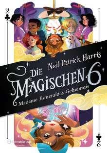 Neil Patrick Harris: Die Magischen Sechs - Madame Esmeraldas Geheimnis, Buch