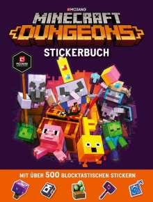 Minecraft: Minecraft Dungeons Stickerbuch, Buch