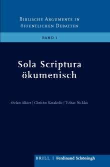 Stefan Alkier: Sola Scriptura ökumenisch, Buch