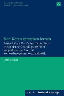 Fatima Cavis: Den Koran verstehen lernen, Buch