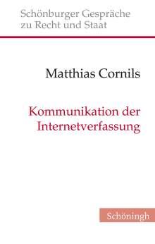 Matthias Cornils: Kommunikation der Internetverfassung, Buch
