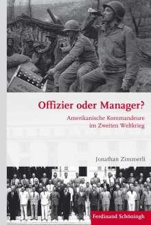 Jonathan Zimmerli: Offizier oder Manager?, Buch