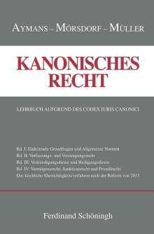 Winfried Aymanns: Kanonisches Recht Band I-IV. Plus Ergänzungsband, 5 Bücher