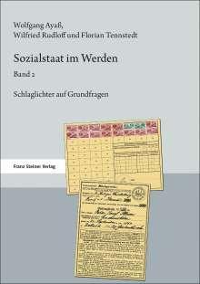 Florian Tennstedt: Sozialstaat im Werden. Band 2, Buch