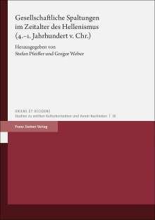 Gesellschaftliche Spaltungen im Zeitalter des Hellenismus (4.-1. Jahrhundert v. Chr.), Buch