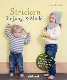 Julie Jaeken: Stricken für Jungs & Mädels, Buch