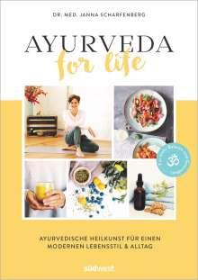 Janna Scharfenberg: Ayurveda for Life, Buch
